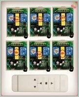 Tubular motor garage door / projection screen / shutters AC 220 V RF Wireless Remote Control switch Digital display screen