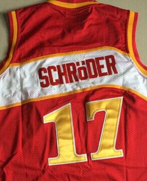 4a13f5ebde2  17 Dennis Schroder jersey Atlanta White