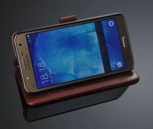 Image 5 - Чехол для Samsung Galaxy J5 J500 J7 J700 2015, роскошный флип кошелек, Кожаные чехлы в стиле ретро для Samsung J5 J7 2015 2016 J510 J710, чехол