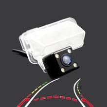 HD парковочная камера для sony ccd 2014 автомобиль toyota corolla заднего вида водостойкая камера заднего вида динамическая траектория кривая камера