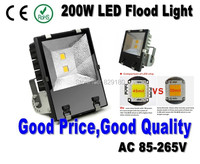 200W Led Flood Light with High Quality Bridgelux Led Chip Factory Directly AC110 240V