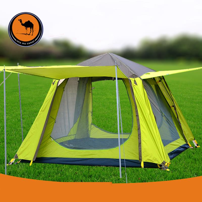 double automatic outdoor 3-4 people wild multiplayer rain tent for camping family tent 086 corip and spring account automatic double bunk 3 4 outdoor tent camping tent rain