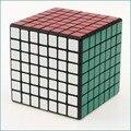 Nova Shengshou Cubo mágico quebra-cabeça 7 x 7 x 7 ( PVC adesivo, Black & White ) velocidade competição profissional Cubo mágico brinquedo de criança presente