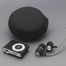 YHYZJL портативный мини Mp3 музыкальный плеер Mp3 плеер Поддержка Micro TFCard слот USB MP3 S порт плеер USB порт с наушниками с сумкой