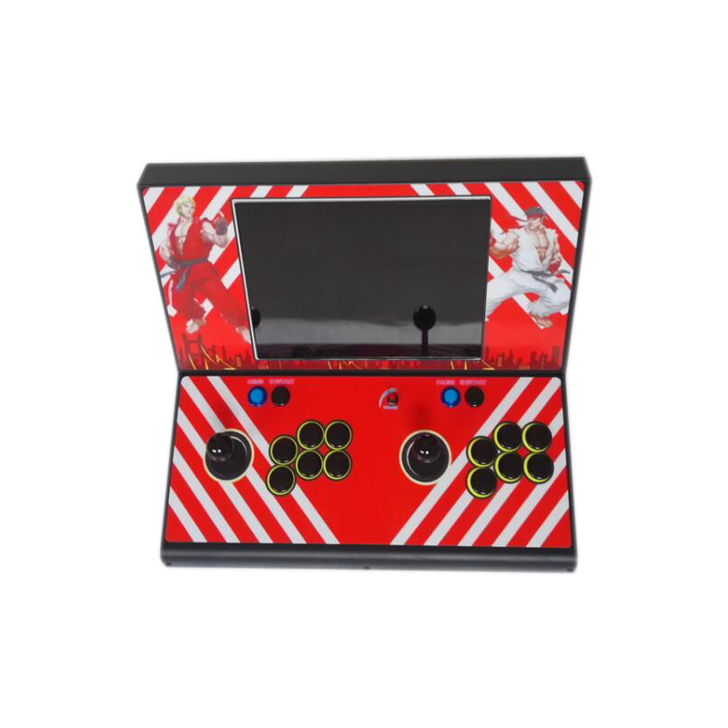 box7 3D built in 2177 games arcade game console machine with 15 inch LCD for 2 player HDMI VGA output