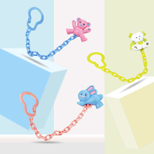 Baby Pacifier Clip Newborn Cartoon  Chain Clip Pacifier Soother Nipple Clips Leash Strap Nipple Holder for Baby Feeding