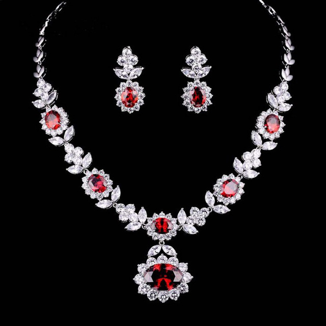 pop jewelry sets Necklace Necklace wedding party wedding dress necklace cross-border electricity supplier explosion