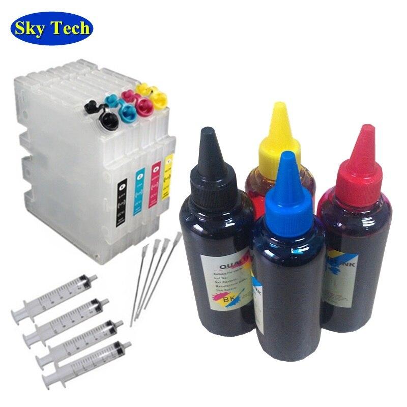Cartouche rechargeable GC41 + Sublimation Ricoh. Pour Ricoh SG2100 SG2010L SG3120 SG3100 SG3110DN SG3110DNW SG7100 Imprimante