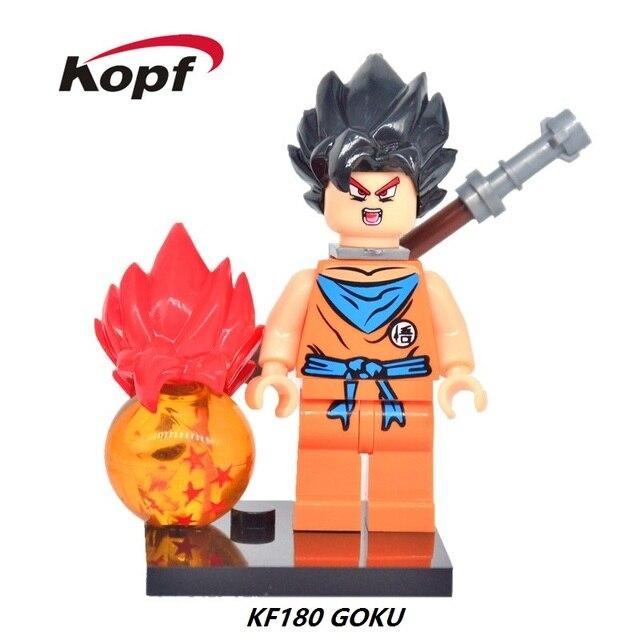 Super Héroes Dibujos Animados Dragon Ball Son Goku Vegeta Con Dos