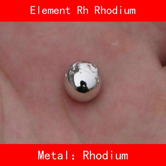 Rh Rhodium Ball Powder Raw Material Pure 9999 Periodic Table Of