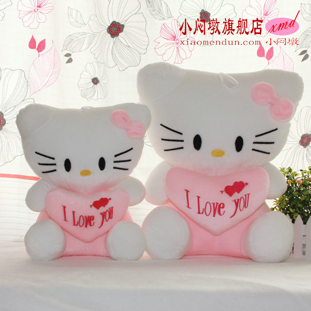 Hellokitty HELLO KITTY kt cat Large doll plush toy doll birthday gift schoolgirl