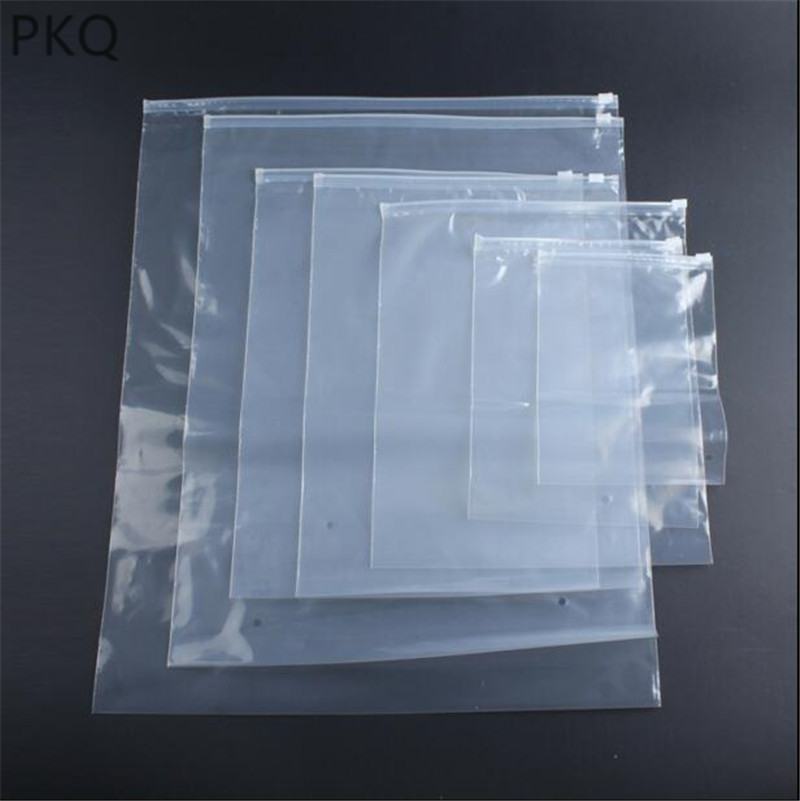1eca50bcfaaf Detail Feedback Questions about 10pcs Small ziplock bags Clear Plastic  Storage Bag reusable zip lock bag for cosmetic clothes packaging zipper  pouches on ...