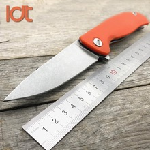 LDT F3 Folding Knife 8Cr13Mov Blade G10 Handle Outdoor Camping Survival Knives Hunting Military Tactical Pocket Knife EDC Tools sanrenmu s755 fixed blade knife 8cr13mov blade g10 handle with sheath outdoor camping survival tactical edc tool hunting knife