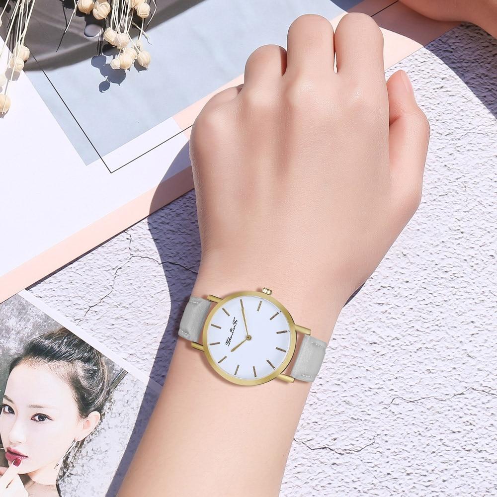 Moda 2018 Izle Popüler Bayan Saatler yüksek qualityFashion - Kadın Saatler - Fotoğraf 4