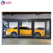 Indoor showcase tent for parking vehicles commercial inflatable car bubble storage, car shelter, inflatable car tent for sale