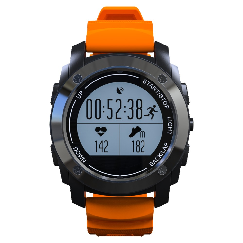 Smartch S928 GPS Outdoor Sports Smart Watch IP66 Life Waterproof with Heart Rate Monitor Pressure for