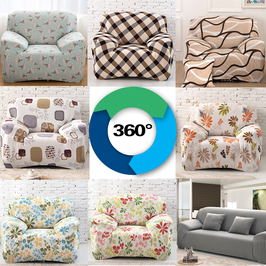 Universal elastic sofa cover tight wrap all inclusive slip resistant sofa cover elastic sofa towel Single