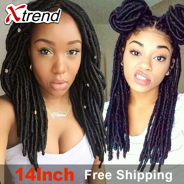 Free Shipping 14 24roots Crochet Faux Loc Hair Extensions Havana