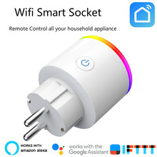 スマートの充電器 Wifi スマートソケットタイマー switcher パワー監視エネルギーセーバーで動作 Google ホームミニ Alexa IFTTT