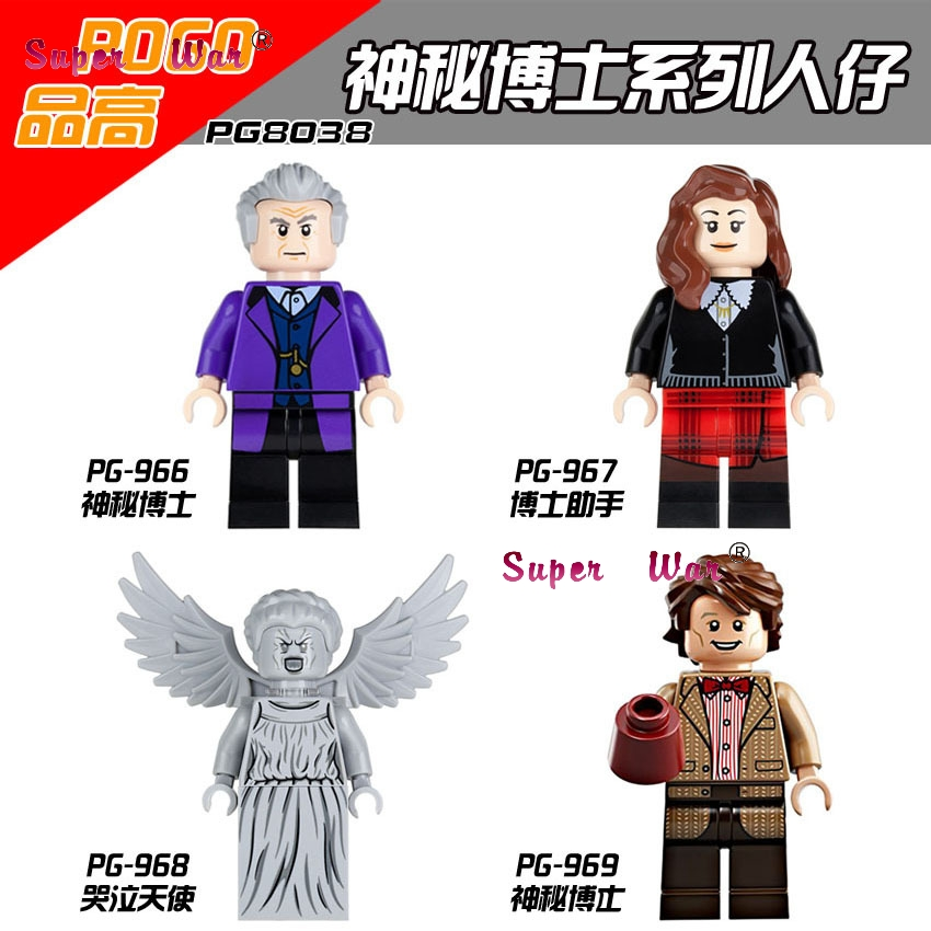 20pcs star wars Clara Oswald The Twelfth Doctor Who building blocks figure brick model Collection educational diy baby toy
