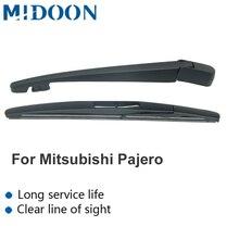 MIDOON Задний рычаг стеклоочистителя и Задняя щетка стеклоочистителя для Mitsubishi Pajero(Shogun) 2007