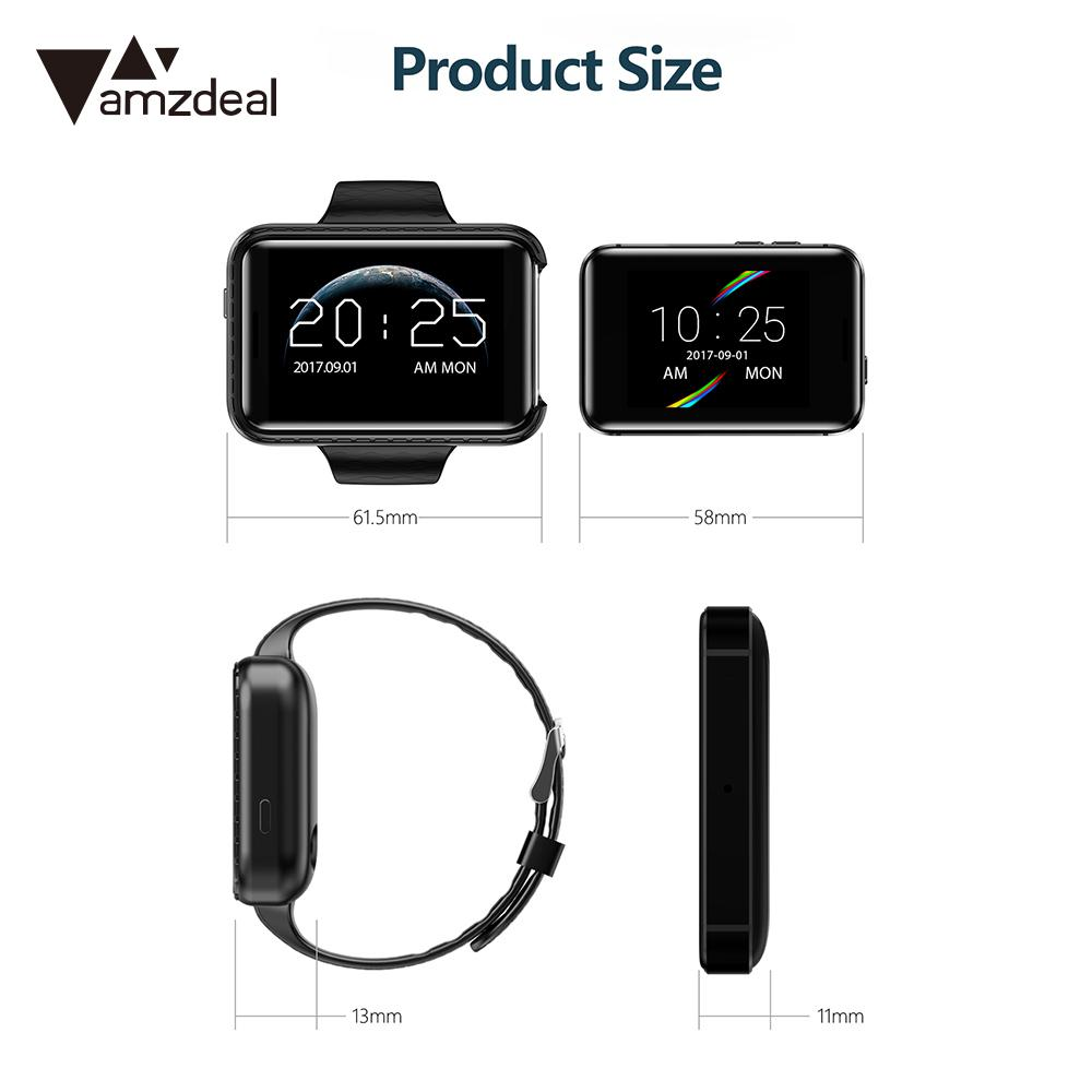 Smart Phone Watch Bluetooth Wrist Cellphone Watch Smart Mobile Watch SIM Card High-Definition Display Unlimited Social 2G Calls