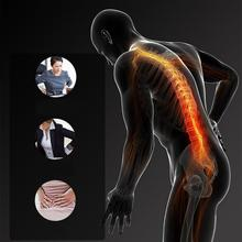 1pc Back Stretch Equipment Massager Magic Stretcher Fitness Lumbar Support Relaxation Spine Pain Relief Corrector Health Care