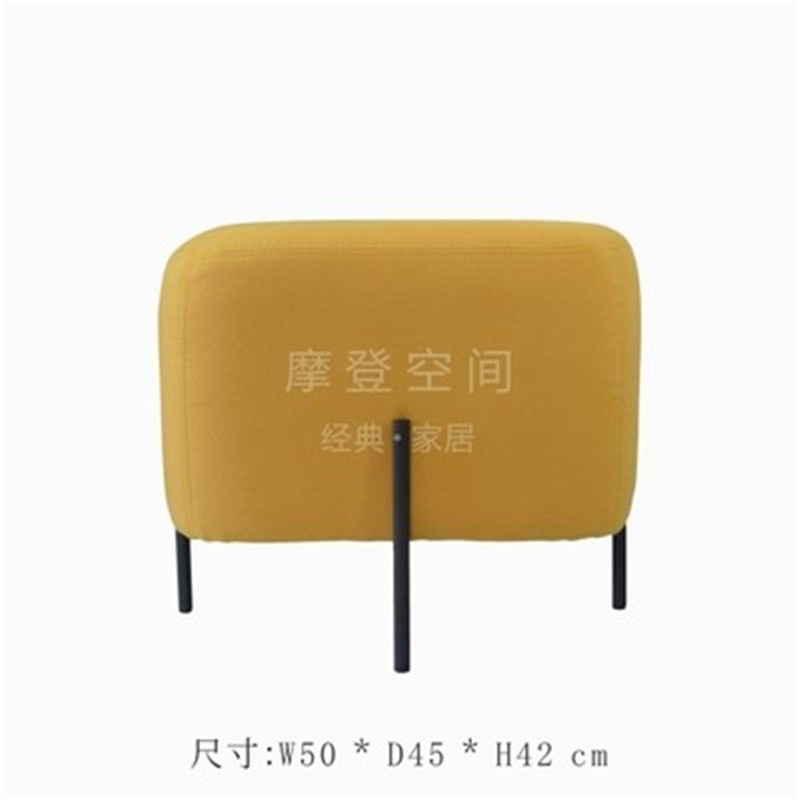 Louis Fashion Stools Ottomans Modern Simple Customized Nordic Pu Saddle Cloth For Shoes Creative Makeup Easy To Use Living Room Furniture