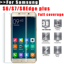 Фотография IFire 3D Full Coverage Screen Protector For Samsung Galaxy S6 S7 Edge S8 Plus Note8 Soft film (Not Tempered Glass)