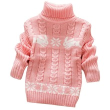 Girl's Winter Cute Rabbit Printed Sweater