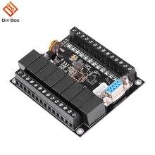 Controlador programável da lógica programável da placa de controle industrial do regulador FX1N 20MR do plc da c.c. 24 v