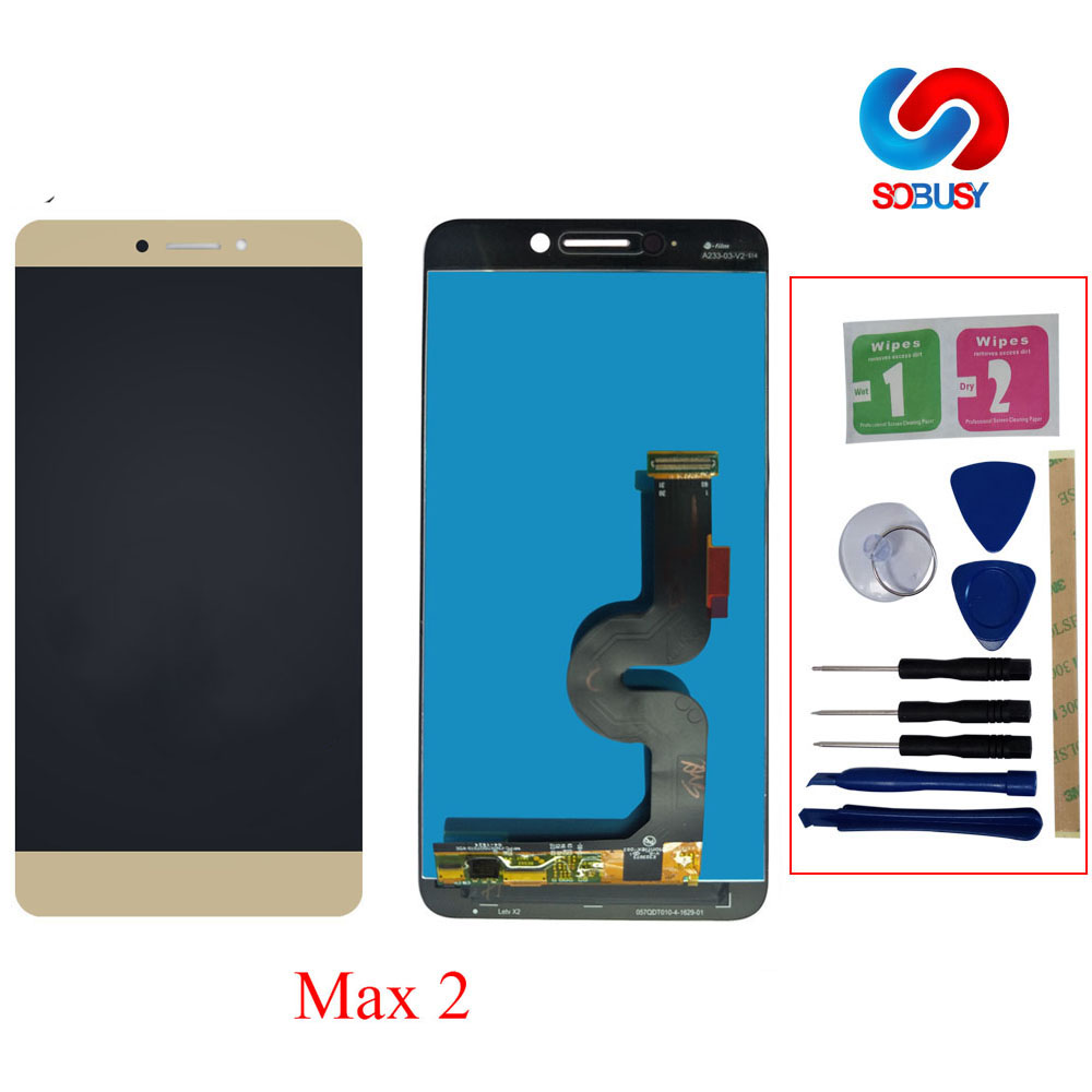 LCD Screen Für LeTV LeEco Le Max 2X820X829X821X822X823 LCD Touch screen Display Digitizer Montage Ersatz Tela Teile