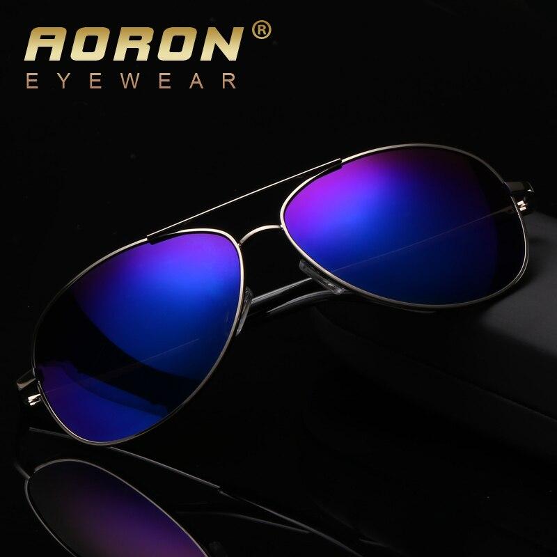 ec46107925 AORON Classic Polarized Sunglasses Men Brand Designer HD Goggle Men s  Integrated Eyewear Sun glasses UV400 2017 New AO-12
