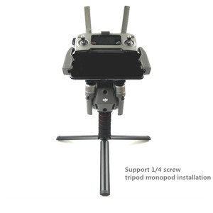 Image 5 - Cầm tay Gimbal Ổn Định Tray chủ điều khiển Từ Xa Hỗ Trợ Bracket 1/4 tripod monopod núi cho DJI Mavic 2 Pro zoom Bay Không Người Lái
