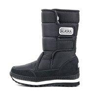 Girls Boots Kids Boys Winter Shoes Children Snow Boots For Girls Kinderschoenen Warm Rubber Baby Shoes