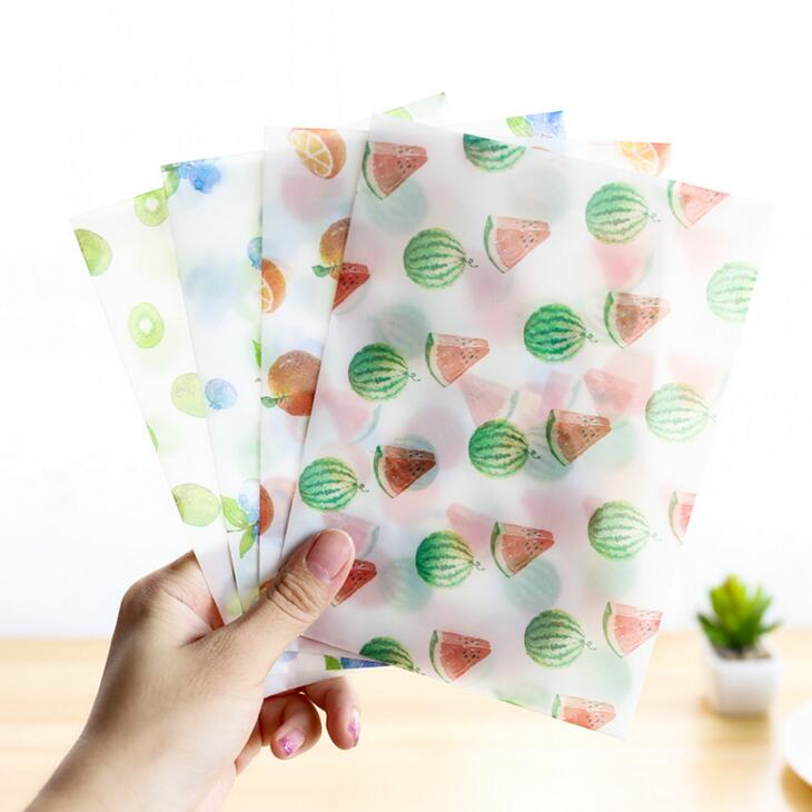 Paper Envelopes Reasonable 8 Pcs/pack Hearty Fresh Fruit Translucent Envelope Message Card Letter Stationary Storage Paper Gift Mail & Shipping Supplies
