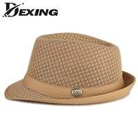[Dexing] Grande taille Hommes Casual Top Soleil Chapeau Hommes femmes Chapeau De Jazz De Mode Vintage Femme Homme chapeau