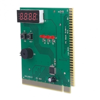 computer motherboard 4-Digit Card Pc Analyzer Computer Diagnostic Motherboard Post Tester For Pci Isa Power On Self Test Card (3)