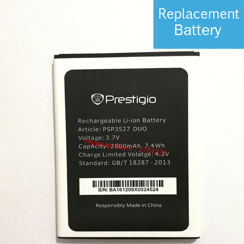 e7a73c9f52435c New 3.7V PSP3527 DUO Replacement Battery For Prestigio Wize NK3 PSP3527DUO  PSP 3527 Baterij Batterie