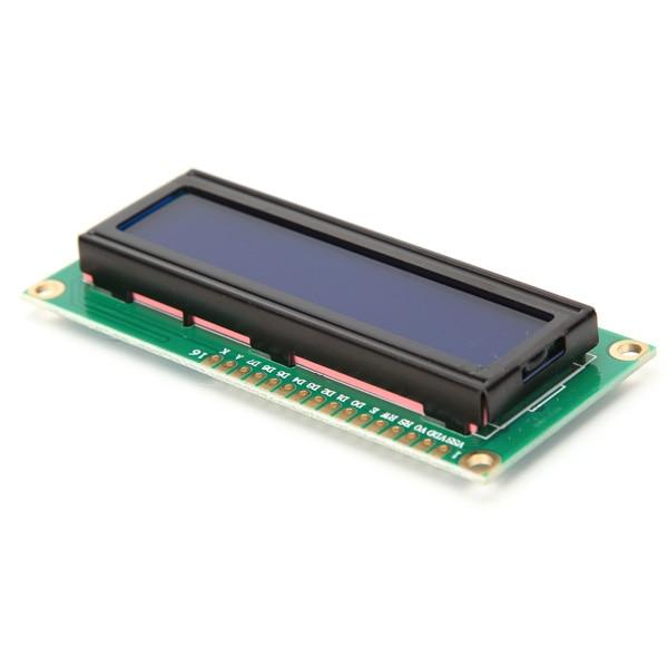 Lcd Module Wavgat Lcd1602 1602 Modul Blau Grün Bildschirm 16x2 Zeichen Lcd Display Modul Hd44780 Controller Blau Schwarz Licht GroßE Sorten Optoelektronische Displays