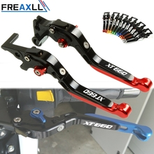 For YAMAHA XT660 XT 660 X R Z 2014-2017 Motorcycle Accessories Lever CNC Adjustable Folding Extendable Brake Clutch Levers