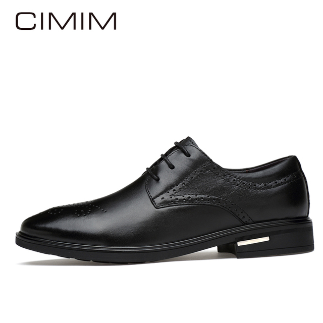 Retro De Moda Marca Hombres Derby Zapatos Tallado Cimim nwnYaHUq