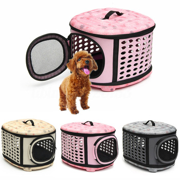 Pet Dog Cat Carrier Side Foldable Travel Tote  1