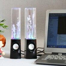 Sans fil danse eau haut parleur lumière LED fontaine haut parleur maison fête JR offres