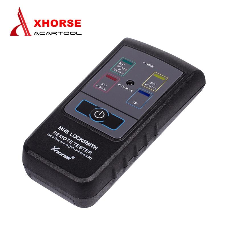 Prix pour Origine XHORSE Testeur À Distance Radio Drequency (RF) Infrarouge (IR) pour 300 Mhz-320 hz/434 Mhz/868 Mhz Auto clé Programmeur Livraison Gratuite
