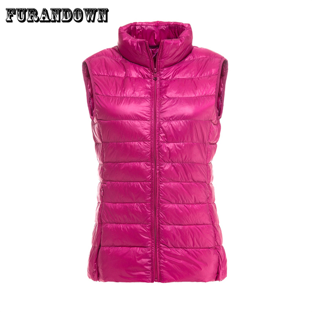 Aliexpress.com : Buy 90% white duck down jacket vest Women winter ...