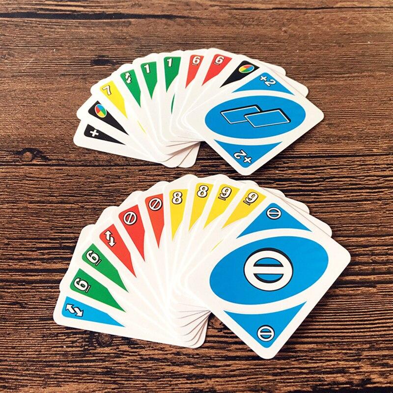 Juego De Mesa Nuevos Tipos Diferentes De Veces Uno Juego De Cartas