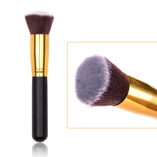 1pcs High Quality Blush Foundation Brush Makeup Brush Soft Flat Hair Wonderful Brushes Beauty Tools NXH05037