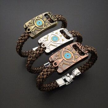 Bracelet La Légende de Zelda En Cuir + Alliage De Zinc