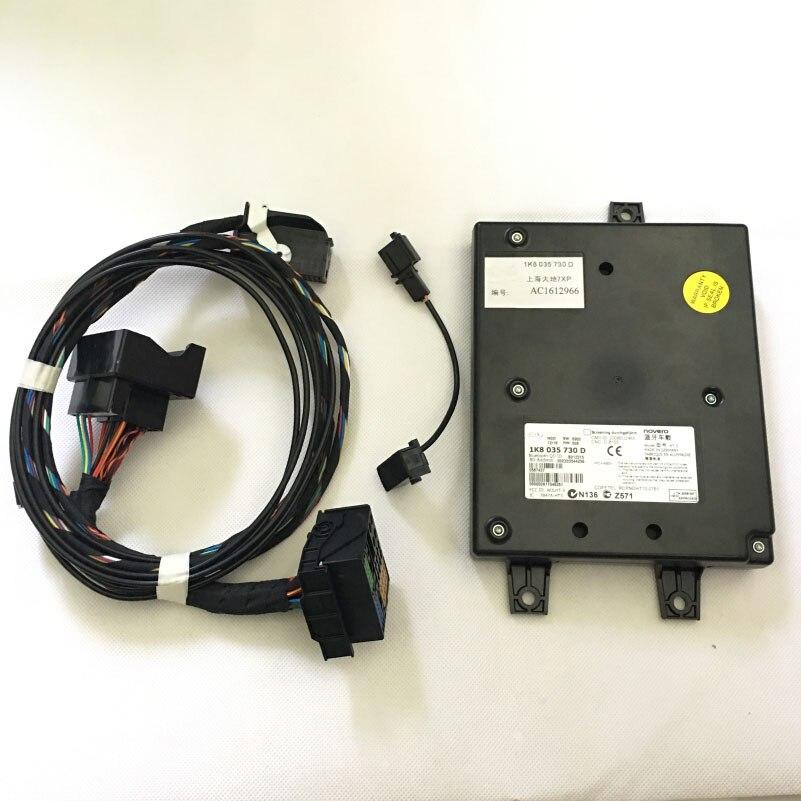 Prix pour RCD510 9W2 Module Bluetooth + Plug & Play Harnais + Microphone Pour VW Golf Jetta MK5 MK6 MKV Passat B6 1K8 035 730 D